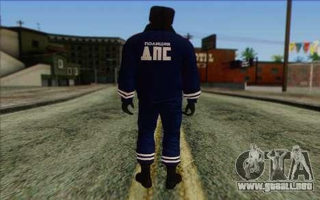 DPS de la Piel 2 para GTA San Andreas segunda pantalla