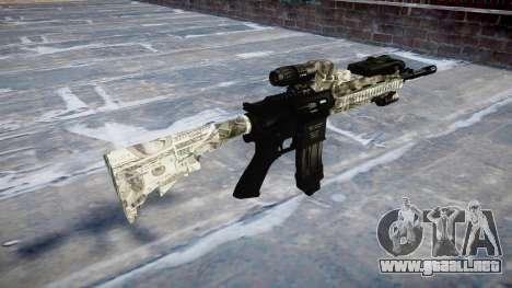 Automatic rifle Colt M4A1 benjamins para GTA 4 segundos de pantalla
