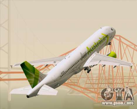 Airbus A320-200 Air Australia para GTA San Andreas