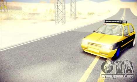 Fiat Uno para la visión correcta GTA San Andreas