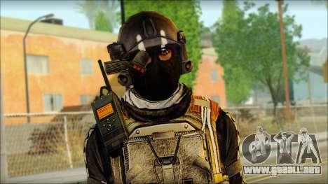 Mercenario (SC: Blacklist) v2 para GTA San Andreas tercera pantalla