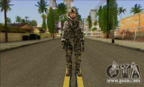 Task Force 141 (CoD: MW 2) Skin 2 para GTA San Andreas