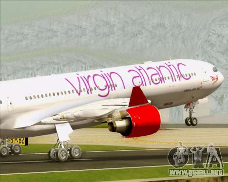 Airbus A330-300 Virgin Atlantic Airways para el motor de GTA San Andreas