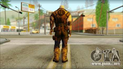 Deadpool The Game Cable para GTA San Andreas segunda pantalla