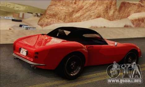 Grotti Stinger 1.0 (IVF) para GTA San Andreas left