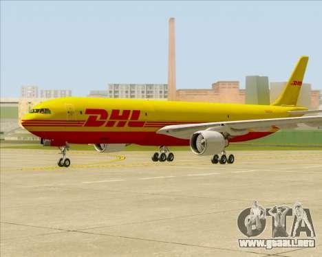 Airbus A330-300P2F DHL para GTA San Andreas left