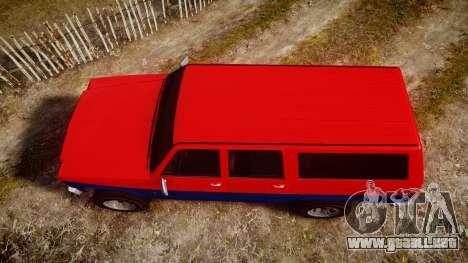 GTA V Declasse Rancher XL para GTA 4 visión correcta