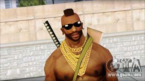 MR T Skin v9 para GTA San Andreas tercera pantalla