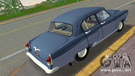 GAZ-21R Volga 1965 para GTA Vice City vista lateral izquierdo