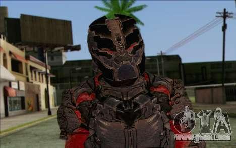 John Carver from Dead Space 3 para GTA San Andreas tercera pantalla