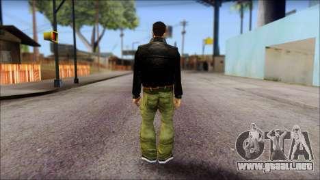 GTA 3 Claude Ped para GTA San Andreas segunda pantalla