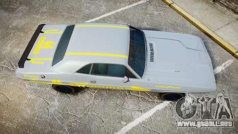 Dodge Challenger 1971 v2.2 PJ4 para GTA 4 visión correcta