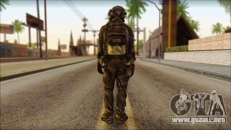 Combatiente de la OGA (MoHW) v1 para GTA San Andreas segunda pantalla