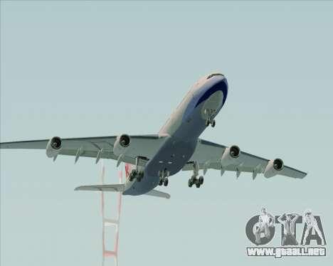Airbus A340-313 China Airlines para vista lateral GTA San Andreas