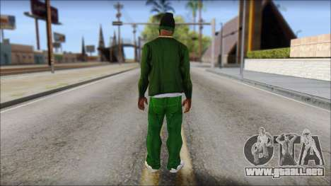 New CJ v4 para GTA San Andreas segunda pantalla