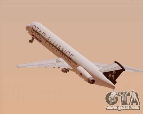 McDonnell Douglas MD-82 Spanair para el motor de GTA San Andreas