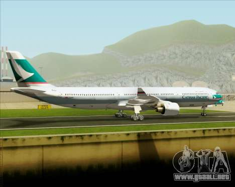 Airbus A330-300 Cathay Pacific para visión interna GTA San Andreas