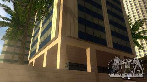 De texturas en HD de cuatro rascacielos en Los S para GTA San Andreas undécima de pantalla
