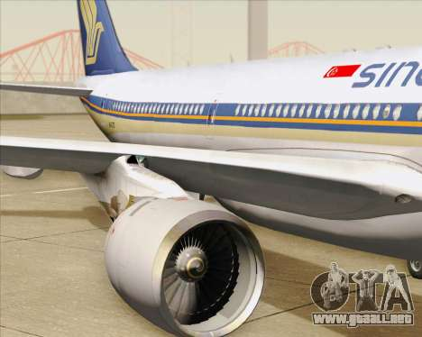 Airbus A330-300 Singapore Airlines para GTA San Andreas
