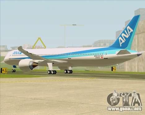 Boeing 787-9 All Nippon Airways para la visión correcta GTA San Andreas