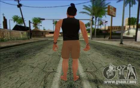 Fabien LaRouche from GTA 5 para GTA San Andreas segunda pantalla