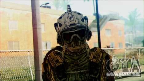Soldados de equipo Fantasma 3 para GTA San Andreas tercera pantalla
