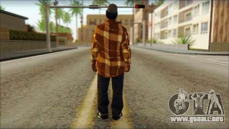 Eazy E Lumberjack Skin para GTA San Andreas segunda pantalla