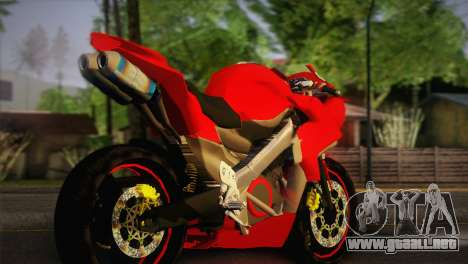 Yamaha New V-Ixion Lightning Concept Variasi para GTA San Andreas left