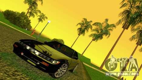 Nissan Silvia S13 RB26DETT Black Revel para GTA Vice City