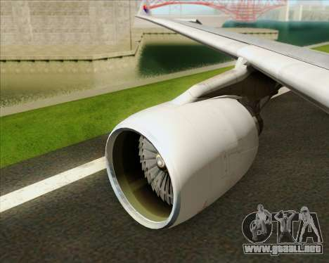 Airbus A330-323 Malaysia Airlines para el motor de GTA San Andreas