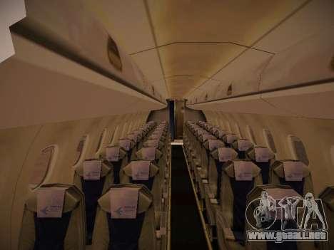 Embraer E190 Azul Tudo Azul para GTA San Andreas vista hacia atrás