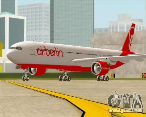 Airbus A330-300 Air Berlin para GTA San Andreas left