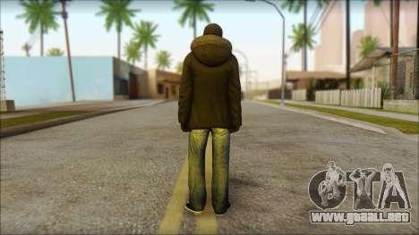 Vandal Euromaidan Style para GTA San Andreas segunda pantalla