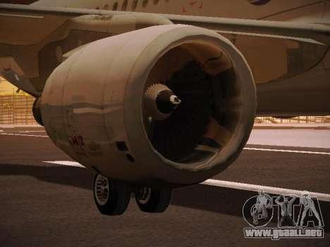Airbus A320-214 LAN Oneworld para las ruedas de GTA San Andreas
