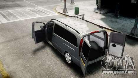 Mercedes-Benz Vito Sport-X para GTA 4 Vista posterior izquierda