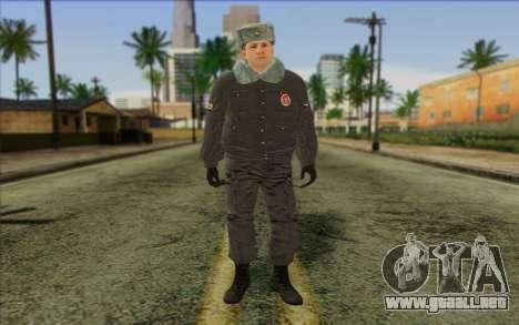 La policía rusa de la Piel 4 para GTA San Andreas