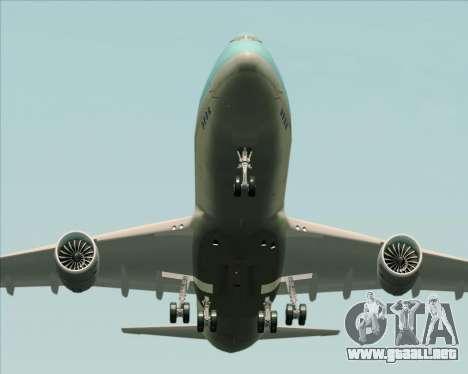 Boeing 747-8 Cargo Korean Air Cargo para el motor de GTA San Andreas