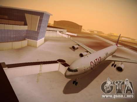 Airbus A340-600 Qatar Airways para GTA San Andreas