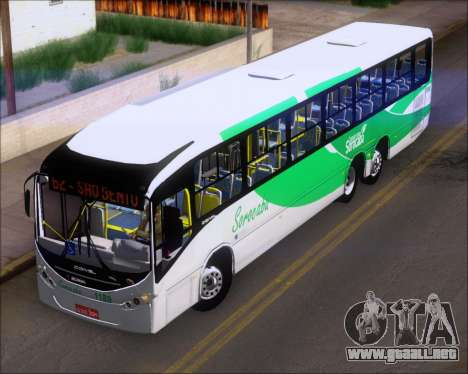 Comil Svelto BRT Scania K310IB 6x2 Sorocaba para visión interna GTA San Andreas