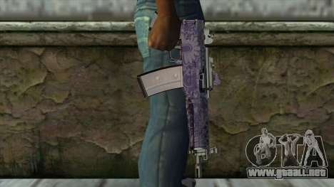 Graffiti MP5 para GTA San Andreas tercera pantalla