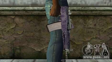 Graffiti MP5 para GTA San Andreas tercera pantalla