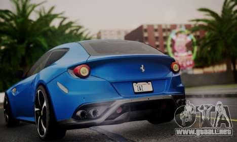 Ferrari FF 2012 para visión interna GTA San Andreas