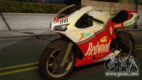 Bati RR 801 Redwood para GTA San Andreas