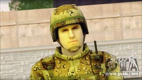 Navy Seal Soldier para GTA San Andreas tercera pantalla