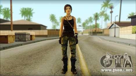 Tomb Raider Skin 4 2013 para GTA San Andreas