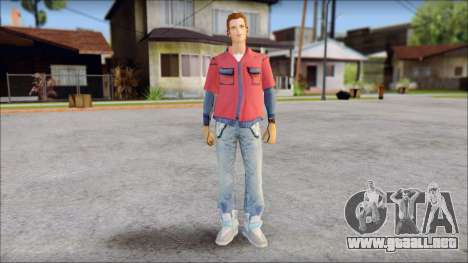 Marty with No Hat 2015 para GTA San Andreas