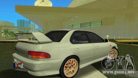 Subaru Impreza WRX STI GC8 Sedan Type 2 para GTA Vice City vista lateral izquierdo