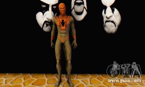 Skin The Amazing Spider Man 2 - Suit Assasin para GTA San Andreas quinta pantalla