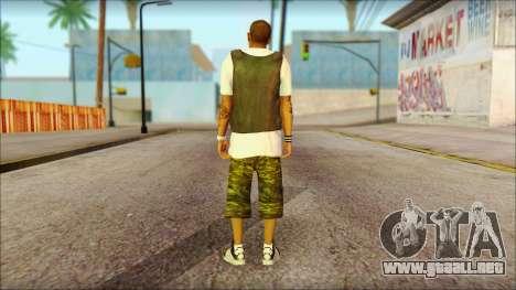 New Grove Street Family Skin v5 para GTA San Andreas segunda pantalla