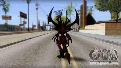Diablo From Diablo III para GTA San Andreas segunda pantalla